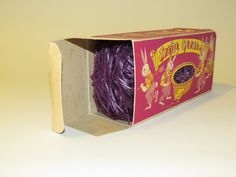 Paper Decorative Boxes Vintage Celluloid Easter Bunny Toy Candy Box Saginaw Mi