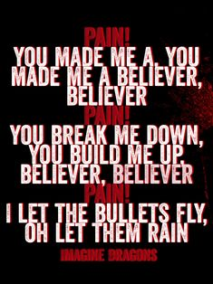 Imagine Dragons • Believer