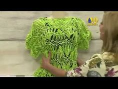 Blusa em crochê de grampo - Vilma Maurer - YouTube