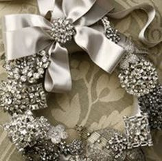 Christmas Bling! Beautiful wreath~