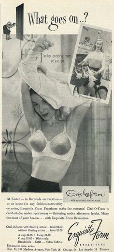 1953 Exquisite Form advertisement, via flickr.