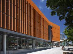 Biblioteca Pública do Distrito de Columbia / The Freelon Group Architects © Mark Herboth