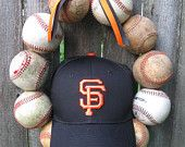 San Fransisco Giants Baseball Love Wreath - Without Hat