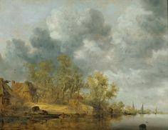 The Athenaeum - Dutch Riverscape (Salomonsz. van Ruysdael - )