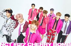 NCT 127 for the comeback Cherry Bomb