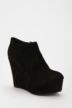 Deena & Ozzy Suede Wedge Boot {Urban Outfitters}