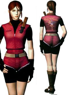 """Claire Redfield """"Made in Heaven"""" outfit from Resident Evil 2 #residentevil2 #claireredfield"""