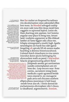 Untitled Book Typeface : Mikko Varakas on Designspiration Magazine Layout Design, Book Design Layout, Print Layout, Page Design, Book Layouts, Vintage Typography, Graphic Design Typography, Editorial Layout, Editorial Design