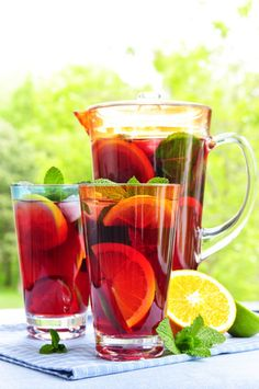Summer Punch Recipes