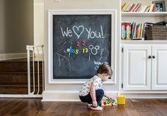 Nursery Wall Art Chalkboard Wall Ideas For Playroom Blue Framed Chalkboard Wall Hanging Blackboard Chalk Paint Kids Room wall chalkboard for kids room Chalkboard Wall Playroom, Kids Chalkboard, Blackboard Chalk, Chalk Wall, Framed Chalkboard, Magnetic Chalkboard Walls, Chalk Board, Magnetic Paint, Kids Room Paint