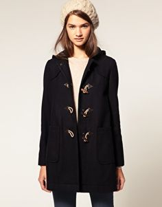 perfect hooded coat, and I love toggles
