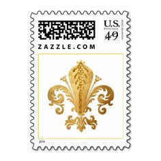 Shop Fleur-de-lis Postage created by NJHeart. Custom Postage Stamps, Adhesive, Best Gifts, Prints