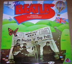 The Beatles Featuring Tony Sheridan EX Vinyl 1976 UK Press