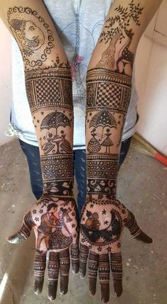 Get the best wedding mehndi design inspiration here. Check the best and latest mehndi design pictures at WeddingsOnlyfor your wedding function. Engagement Mehndi Designs, Latest Bridal Mehndi Designs, Mehndi Designs 2018, Modern Mehndi Designs, Mehndi Design Pictures, Wedding Mehndi Designs, Beautiful Henna Designs, Rajasthani Mehndi Designs, Dulhan Mehndi Designs