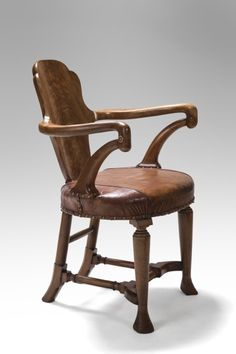 In the Manner, A Spanish Walnut Arm Chair  Circa 1910
