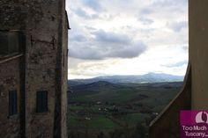 View from San Casciano dei Bagni