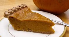vegan and tofu-free pumpkin pie.  I made this in the morning and it was fine by supper time. Tasty.