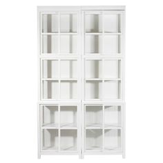 #White 11 open range for kitchen storage and shelving VILLINKI RANGE - Skano Furniture