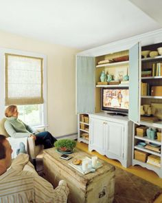 Entertainment cabinet and shelving
