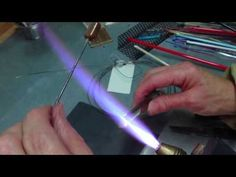 ▶ Silver fuming Tips Using Lampwork Glass 104 COE - YouTube