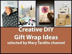 Awesome creative gift wrapping ideas.  youtu.be/FN_HzFxxh2g #giftideas #giftwrap #giftwrapping #giftwrappingideas #giftdecor #gifts #diygiftwrap #creativegiftwrap #diygiftwrapping #birthdaygiftwrap #giftpacking #giftpackingideas #giftpack #howto #diy #diyprojects #MaryTarditochannel #craftsideas #craftideas #упаковкаподарков