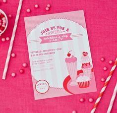 idées déco pour la Saint Valentin invitation originale