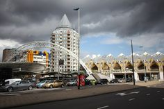 (cube houses -center of Rotterdam)