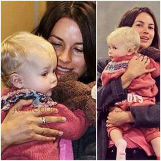 ♡ Amelia and Dulcie ♡  #jamiedornan  #ameliawarner  #dulciedornan  #mrdornan  #mrsdornan  #familydornanwarner  #milliedornan