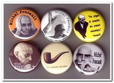 Hey, I found this really awesome Etsy listing at https://www.etsy.com/listing/55618837/michel-foucault-buttons-pins-badges