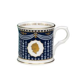 William Edwards Queens 90th Birthday quotMugquot