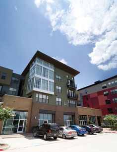 apartments above retail space in the Dallas-Fort Worth metroplex