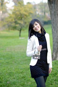 Clichè iPhone cover http://www.pursesandi.net/cliche-purse-cover #bag #bow #black #fashion #pinko #luckylu #polkadots