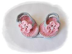 Crochet Baby Flip Flops, Baby Sandals, Gray pink sandals, Baby Flip Flops, Summer Baby Shoes, Crochet Baby Sandles, Girl Sandles #bestofEtsy #etsy #handmade #design #etsymntt #etsyretwt #gifts