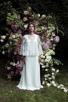 Cassandre Elise Hameau at The Mews Bridal Notting Hill