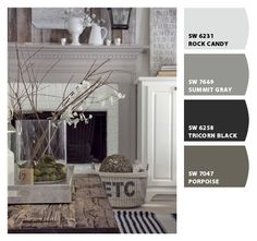 paint colors for family room and kitchen/dining
