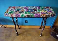 soda can bench