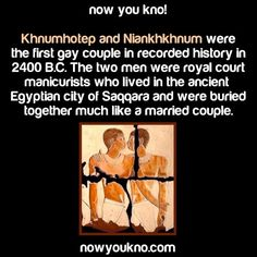 First Gay couple in recorded history