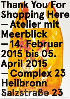 Hans-Jörg Seidler — Thank You For Shopping Here