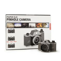 Want to see what's hot this season? Click this PIN Pinhole Camera, Book Projects, Photography Equipment, S Girls, Digital Camera, Nikon, Paper, Cameras, Gifts