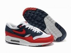 Nike Air Max 87 azul / rojo / blanco http://www.esnikerun.com/