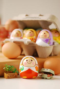 and now my friends, the thing we have all been waiting for, the cutest of the cute! drumroll please for these super adorable kawaii russian dolls! ;3