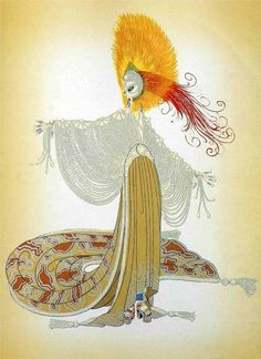 i know that erté is technically an illustrator as opposed to a fine artist, but i don't care! that being said: learn more about illustrator, stage & costume designer erté (romain de tirtoff) here. Arte Art Deco, Moda Art Deco, Art Deco Artists, Estilo Art Deco, Art And Illustration, Art Illustrations, Art Nouveau, Erte Art, Art Deco Stil