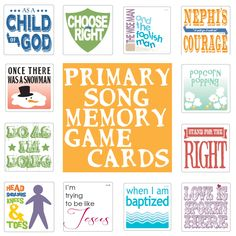 susan fitch design: Primary Song Memory Game Cards, free