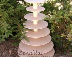 Cupcake Stand Round 5 Tier with Threaded by Zenaidas4urLilAngels