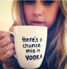 Vodka Coffee Mug I need