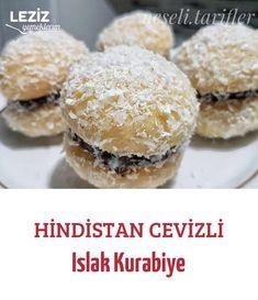 Hindistan Cevizli Islak Kurabiye Fish And Meat, Fish And Seafood, Turkish Recipes, Italian Recipes, Turkish Sweets, Turkish Kitchen, Fresh Fruits And Vegetables, Seafood Dishes, Nutella