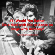 Midnight red would you rather || follow @midnightrednation on instagram
