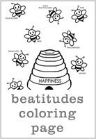 beatitudes coloring page from fhe more