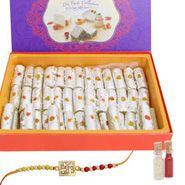 Delicious Kaju Roll and rakhi gifts to mumbai