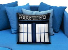 Doctor Who Tardis Pillow Case  These soft pillowcase made of 50% cotton, 50% polyester.  It would be perfect to decorate your home by using our super soft pillow cases on sofa, chair, bench or bed.  Customizable pillow case is both comfortable and durable, improving the quality of your sleep with these comfortable pillow case, take it home now!  Custom Zippered Pillow Cases available in 7 different size (16″x16″, 18″x18″, 20″x20″, 16″x24″, 20″x26″, 20″x30″, 20″x36″)